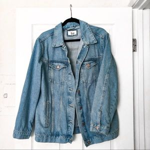 NWOT Oversized Denim Jacket